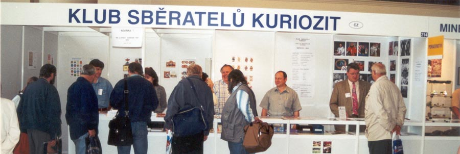 Members of Curiosity Collector´s Club on international fair Colector